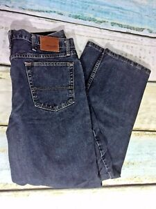 Wrangler-Relaxed-Fit-Mens-Jeans-Dark-Wash-Size-36x30-MJ14