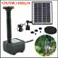 miniatura 13 - Panel Solar De 400L/H con la tecnología de bomba de agua jardín piscina Estanque de Peces de acuario fuente UK