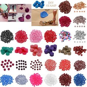 100Pcs//lot Vintage Sealing Wax Tablet Pill Beads for Envelope Document Wax Seal
