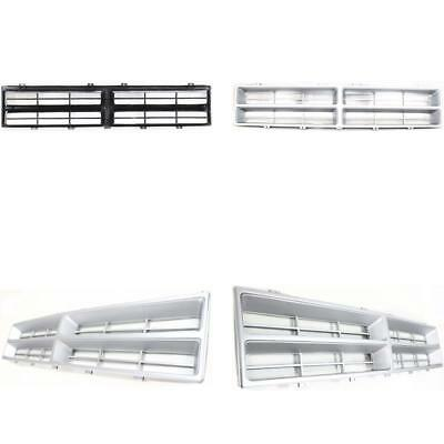 Partslink Number CH1200107 OE Replacement Dodge Pickup//Ramcharger Plymouth Trailduster Grille Assembly