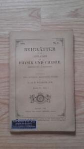 E. Wiedemann - Beiblatter Zu Den Annalen Der Physik Und Chemie - 1891 - Nº5