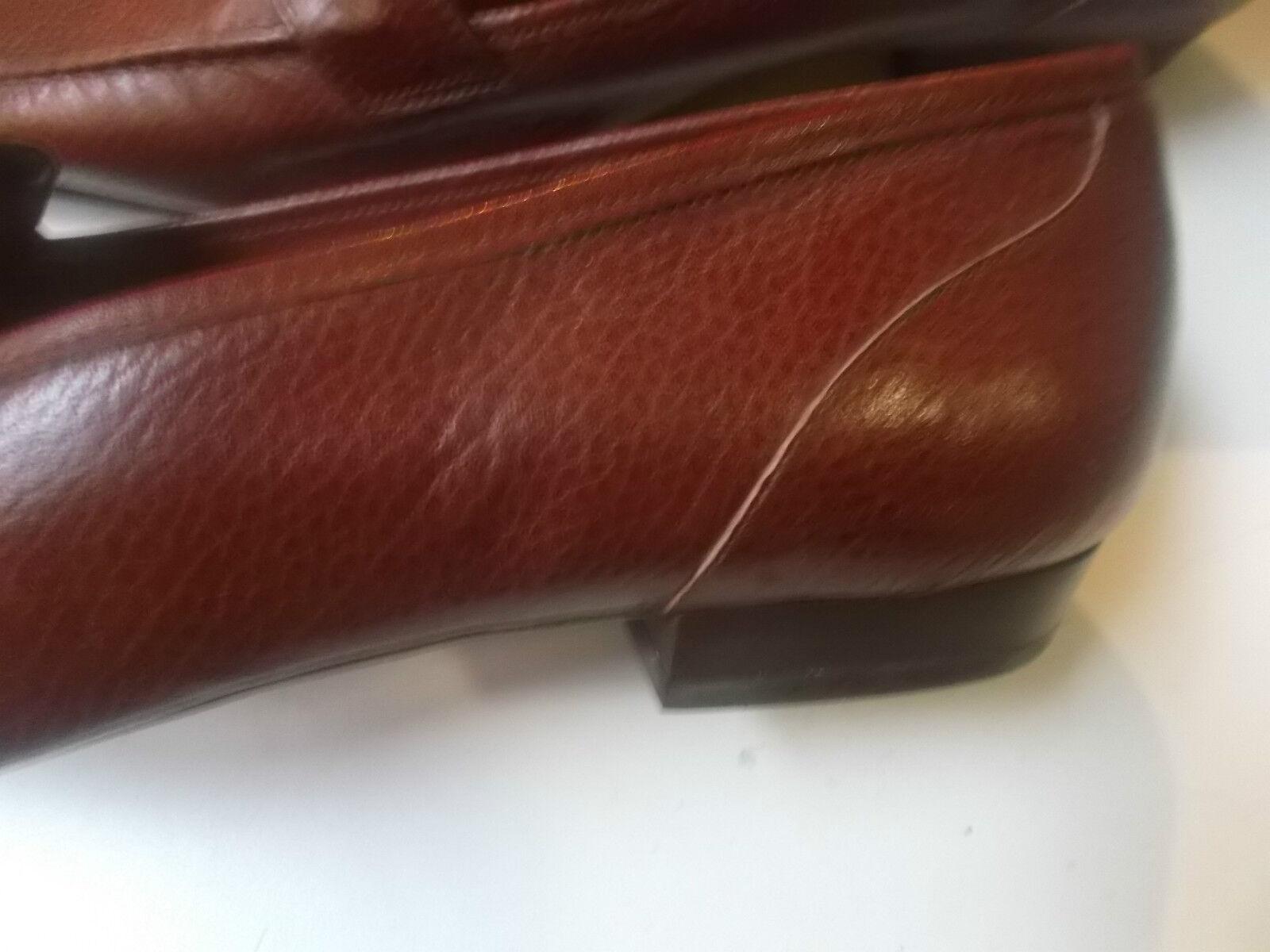 Mocassini brown scarpe donna BAROCCO pelle brown Mocassini alta qualità 37.5-pelle Scarpe 1a9fd4