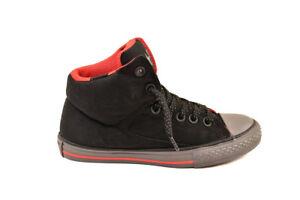 Uk12 £ Rrp señal Ctas Sneakers Bcf81 Stree 46 Junior Negro 654279c Converse High x8HqSvwWA