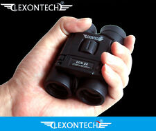 UK lexontech 20x22 TASCABILE MINI HD VERDE Optic LENTE Telescopio Binocolo