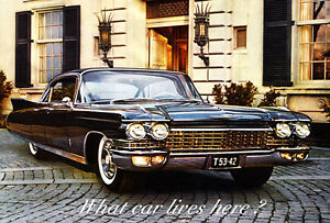 1960 Cadillac Fleetwood 60 Special - Promotional Advertising Poster