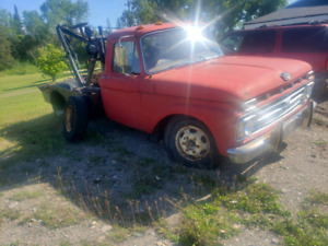 60's ford tow truck