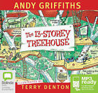 The 13 Storey Treehouse by Andy Griffiths (CD-Extra, 2013)