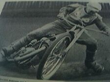 magazine picture / article  1967 speedway - karl erik andersson sweden