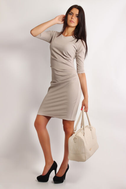 Classic Charming & Elegance Cocktail Dress 3-Quarter Sleeve Size 8-22 FA206