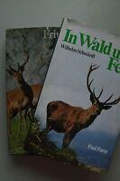 2 Bücher In Wald und Fels + Vom frohgemuten Jagen