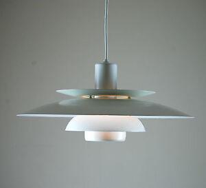 Original-DANISH-Ceiling-Lamp-LYSKAER-4856-Poulsen-Fog-amp-Morup-Lyfa-70s-80s-Era