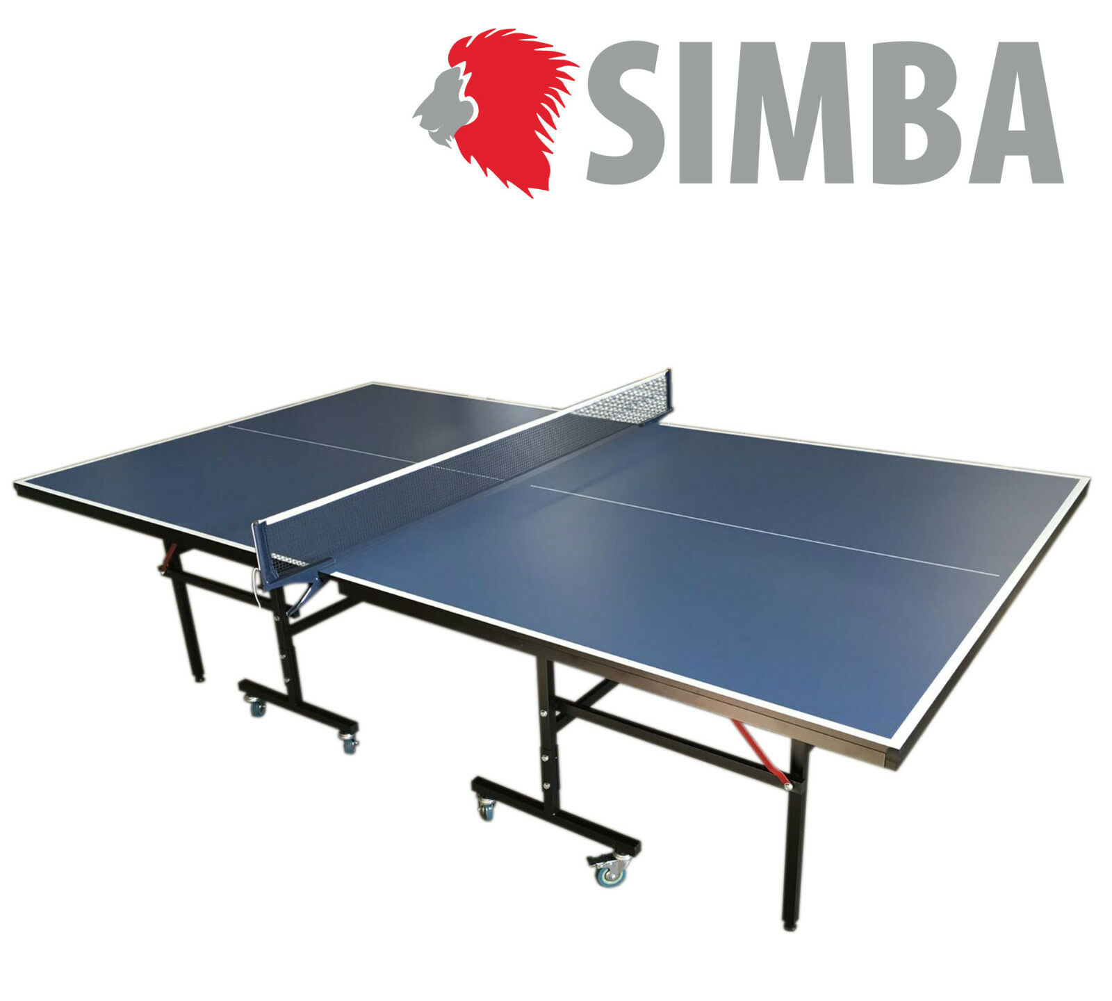 Table Tennis Table Compact Indoor high quality - bluee ping pong mod. ROBY