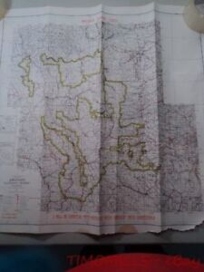 1954 Recreation Map Arapaho National Forest Colorado US Forest ...