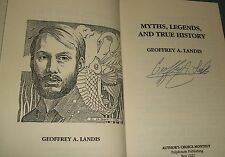 Signed Limited Edition Myths, Legends and True Stories by Geoffrey A. Landis