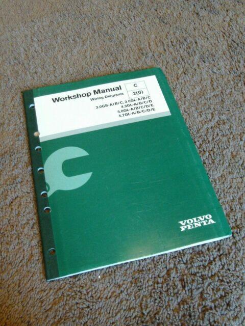 2004 Volvo Penta Electrical Wiring Diagrams Manual 3 0 4 3 5 0 5 7 Sterndrive