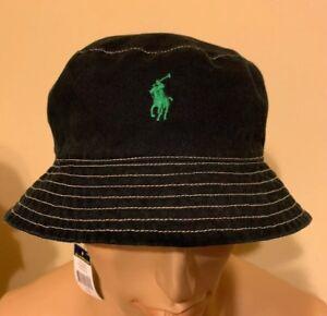 Polo Bucket Hat Ralph Lauren bucket hat Flamingo Black   Green Large ... 9e086dfa333