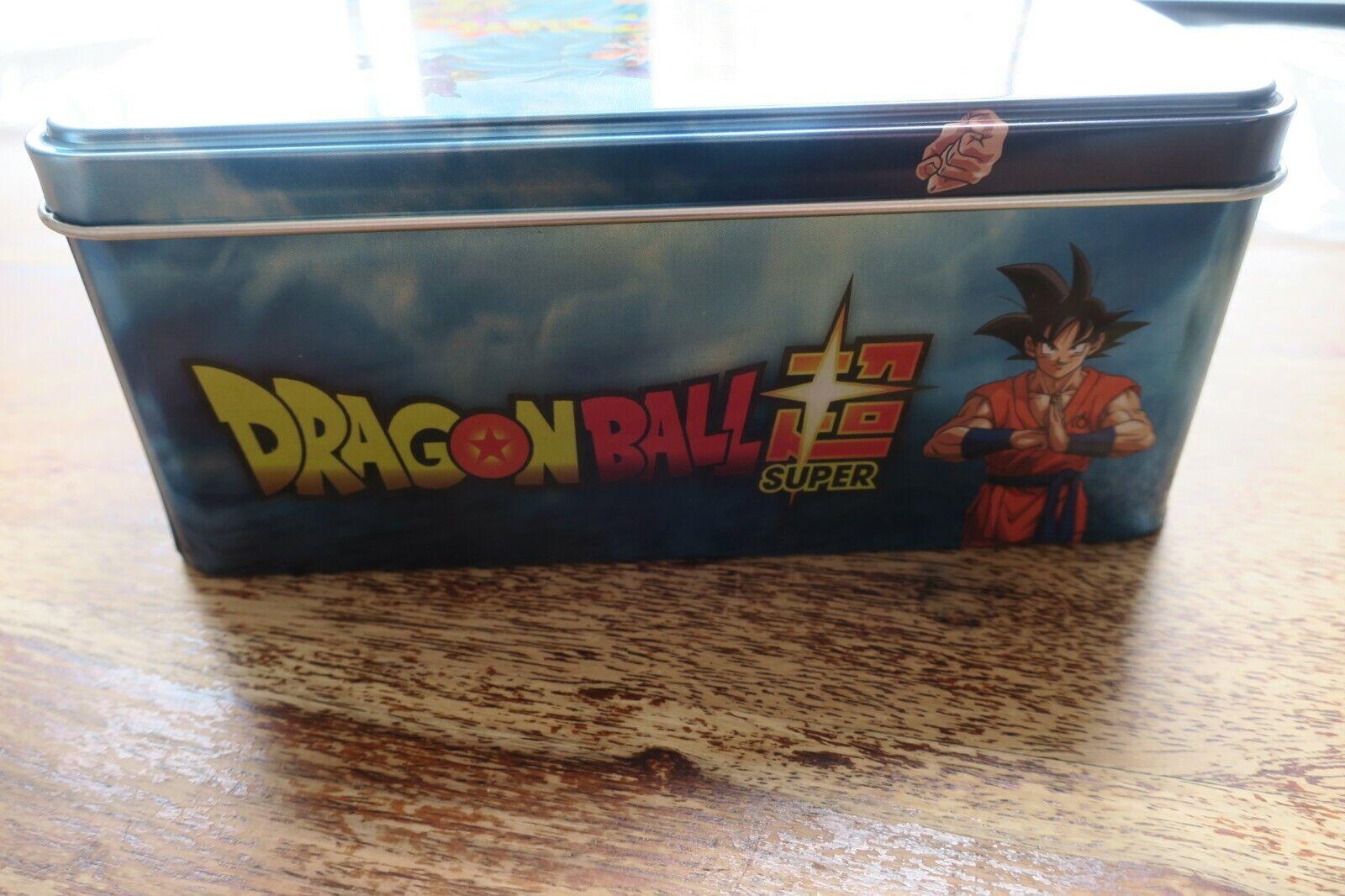 DRAGON BALL SUPER - COLLECTOR'S TIN PANINI     STICKERS   BOITE METAL 2e06e0