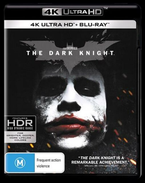 The Dark Knight : NEW 4K UHD Blu-Ray