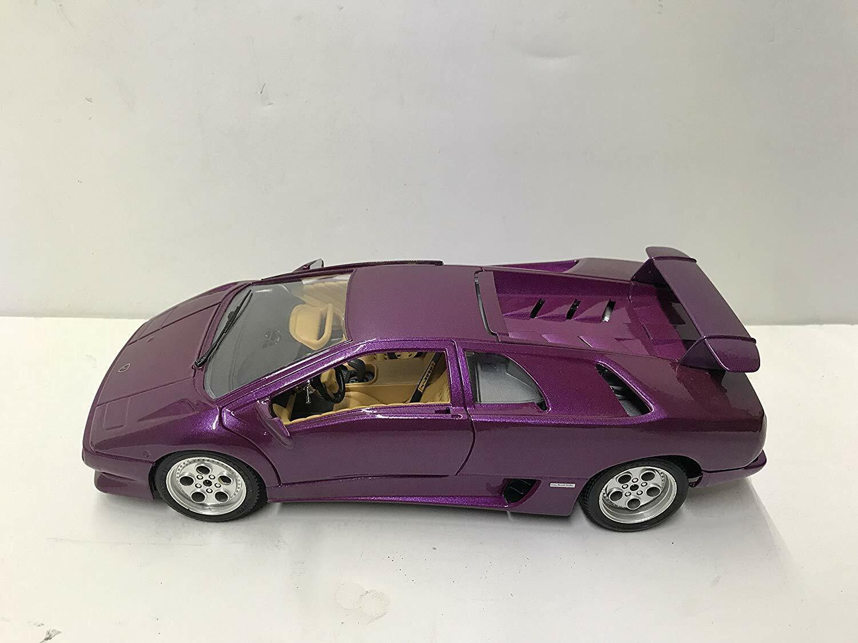 Rare - Lamborghini Diablo 1990 viola metallic 1 18