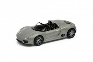 WELLY-NEX-Porsche-918-Spyder-Convertible-Die-Cast-Metal-Pull-Back-Open-Doors
