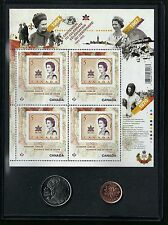 Collectible Diamond Jubilee Commemorative 1967 Stamp Coin Set