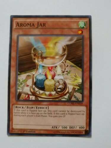 Common NM CORE-EN038 // MP16-EN071-1st Edition Aroma Jar Yu-Gi-Oh