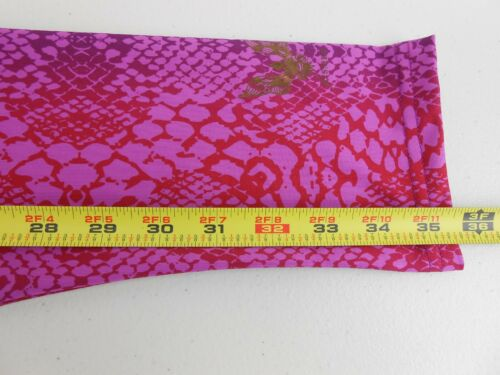 E14 Details about  /Kismet Women Yoga Leggins Recycled Polyester Asasara Pink Ltd Sz M