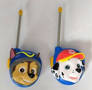 Paw Patrol Chase and Marshall Character Walkie Talkies by eKids