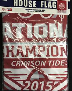 University of Alabama 2015 National Champions House Flag