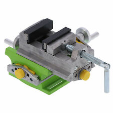 3 Cross Bench Vise Aluminum Alloy Fixed Bench Drill Woodworking Manual Tool New