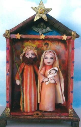 "*NEW* Cloth Folk Art Doll Pattern /""Nativity/"" By Susan Barmore"