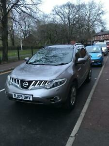 2009-New-Shape-Nissan-Murano-Auto-in-Metallic-Grey-91K-Miles-1-Lady-Owner