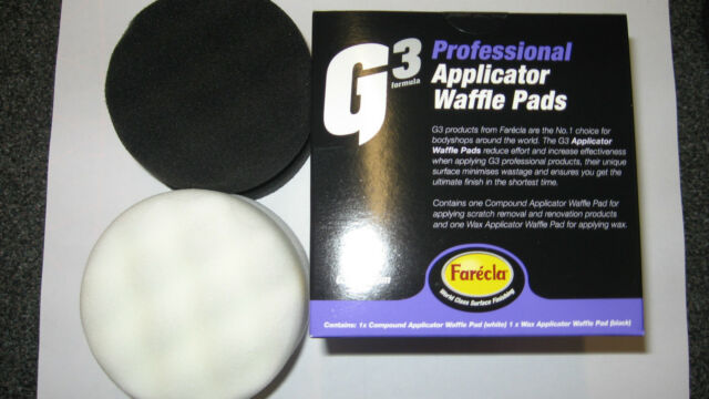G3 Proffesional  Applicator Waffle Pads by Farecla for Scratch Removal Paste
