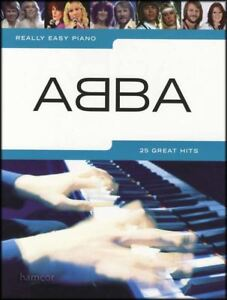 Really-Easy-Piano-ABBA-SHEET-MUSIC-BOOK-repertoire-25-Great-Pop-Hits
