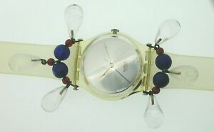Swatch-Watch-GZ125-Chandelier-with-special-case-and-glass-holder-unworn