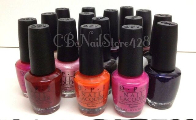 OPI Nail Lacquer 0.5oz/15ml - Classic Colors- PART 2