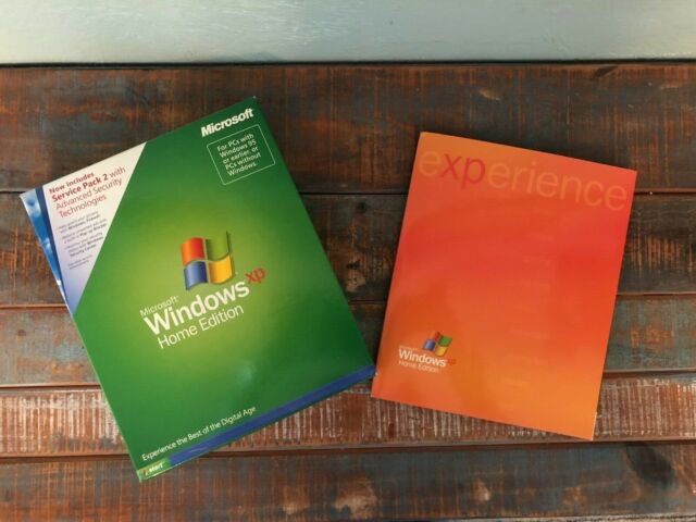 Microsoft Windows XP Home Edition Version 2002 CD with ...