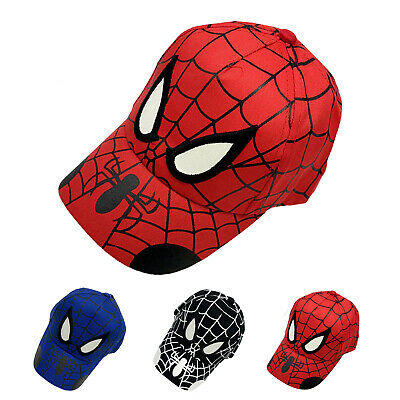 Baby Boys Kids Children Spider-Man Superhero Baseball Cap Adjustable Outdoor Hat