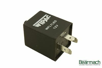 LAND Rover Defender 90 110 4 Pin LED Indicatore Lampeggiante Unità Relè Wipac WFL7LED