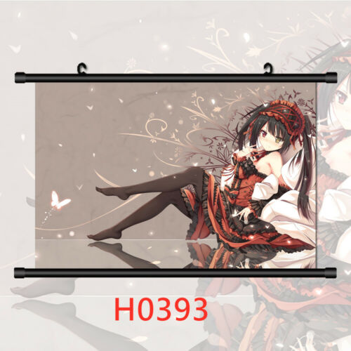 Date A Live Wall Poster Scroll Home Decor Cosplay