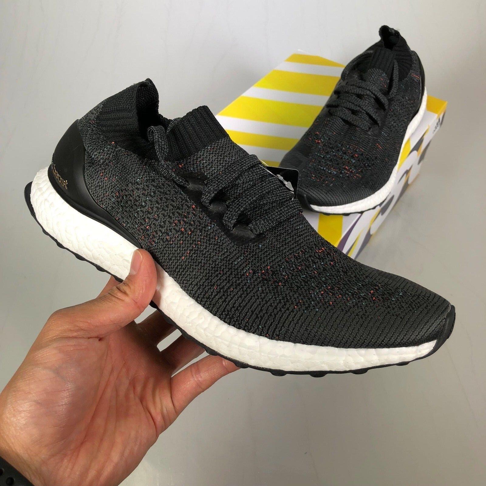 Adidas Ultraboost Ultra Boost Uncaged Multi Colour Black Grey US 10 (BB4486)