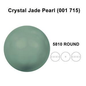 CRYSTAL-JADE-PEARL-001-715-Genuine-Swarovski-5810-Round-All-Sizes