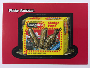 2004-USA-Wacky-Packages-ALL-NEW-SERIES-1-PROMO-Card-Sludgesicle-ANS-2-of-3