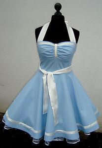 f4cfa8e36133 Das Bild wird geladen 50er-Petticoat-Rockabilly-Abiball-Abend-Pin-Up-Kleid-
