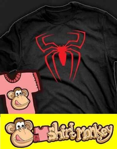 Spiderman Symbol T-shirt Ladies and Gents in many colours.
