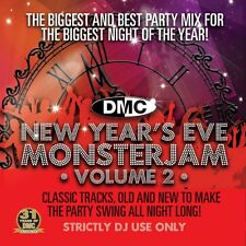 Dmc New Years Eve Monsterjam Vol 2 Megamix Música Dj Cd Mixed By Showstoppers