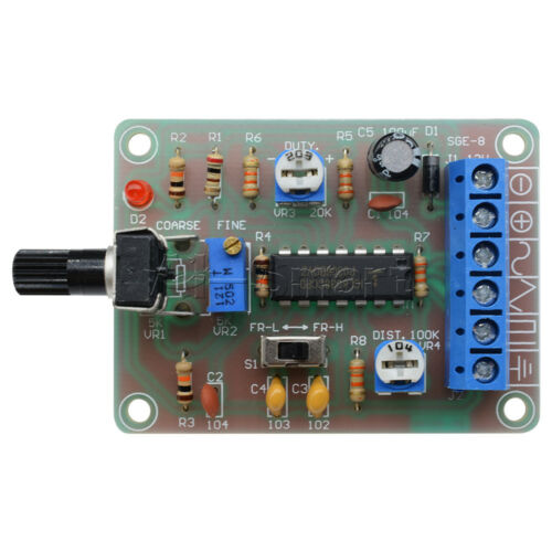 ICL8038 Monolithic Function Signal Generator Module Sine Square Triangle Welded
