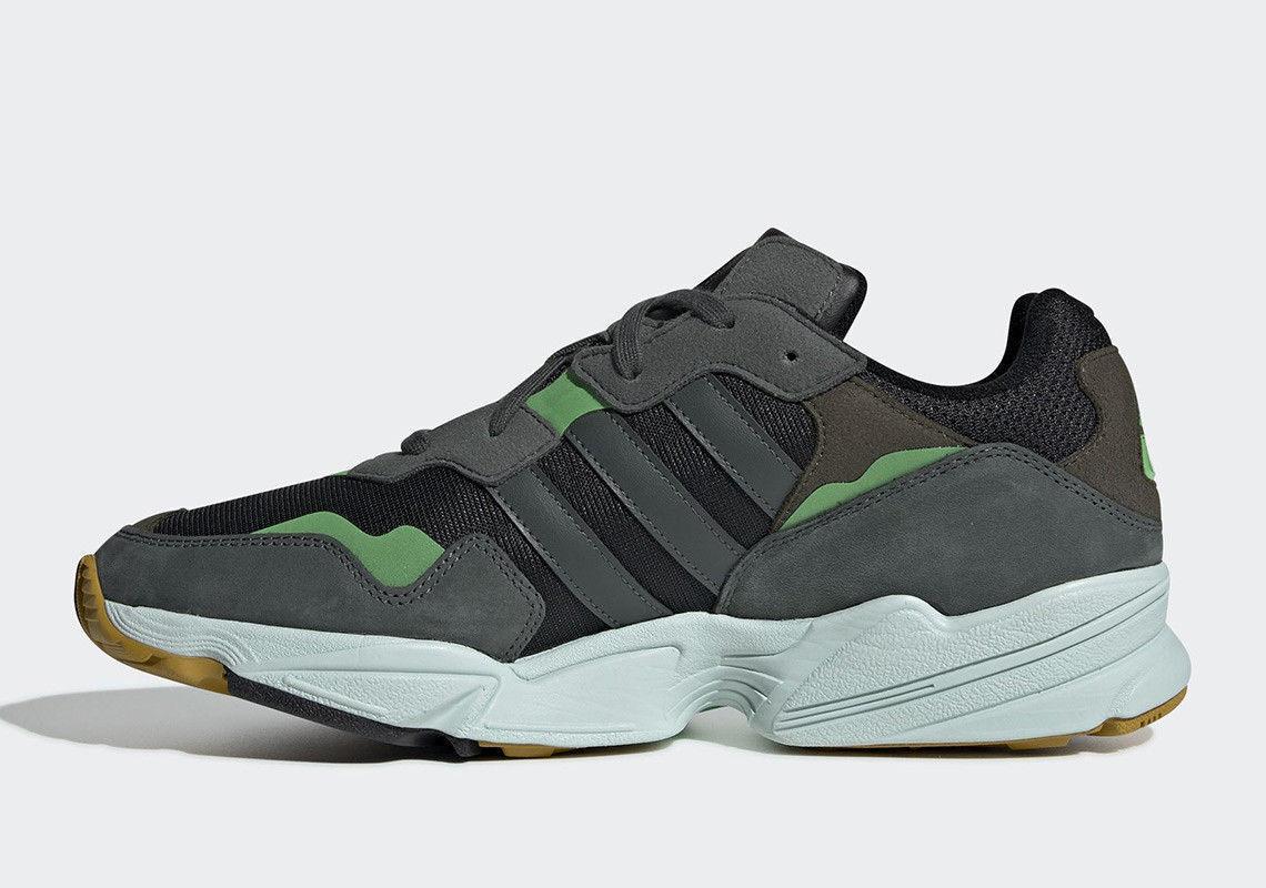 556685eeb ... New Adidas Adidas Adidas Men s Originals Yung-96 shoes (F35018) Black  Legend Ivy ...