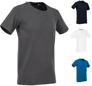 Mens plain slim fitted body fit cotton elastane fashion for Cotton and elastane t shirts