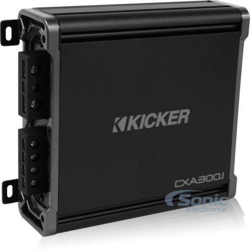 Kicker 43CXA3001 CX300.1 CX 300W RMS Mono Car Audio Class D Amplifier//Amp+Remote